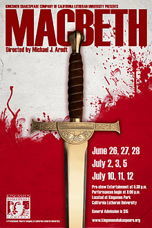 macbeth_poster for Cal Lutheran University dir. by Michael Arndt