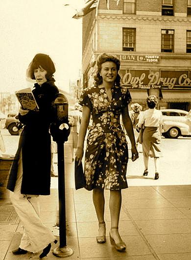 suzanne and Vine 1944